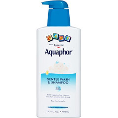 best products for healthy hair Aquaphor Baby Gentle Wash & Tear Free Shampoo