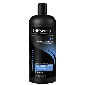 best products for healthy hair TRESemme Smooth & Silky Shampoo with Moroccan Argan